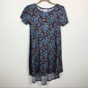 LuLaRoe Carly High Low Swing Dress XXS